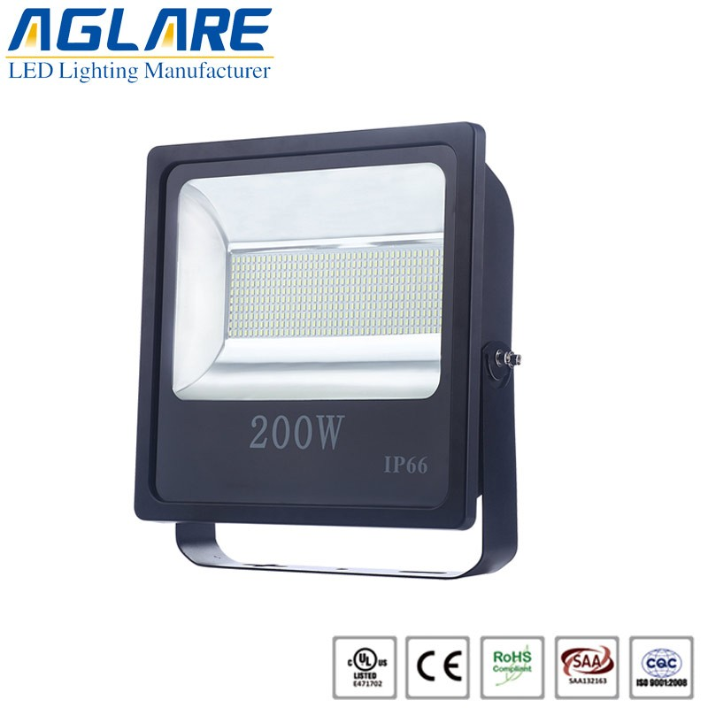 200w indoor led parking lot flood light