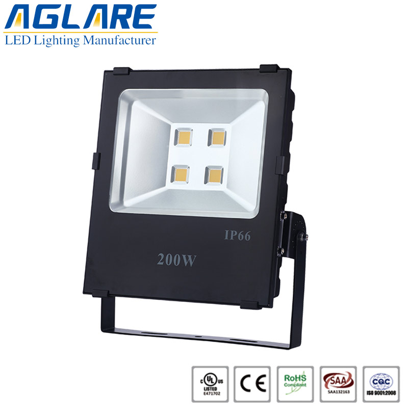 200w led rotating flood light