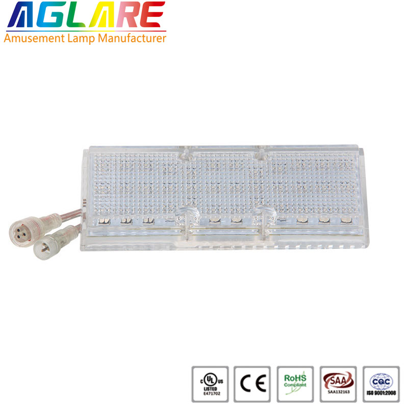 addressable dc24v ip65 rgb rides light led decoration lighting
