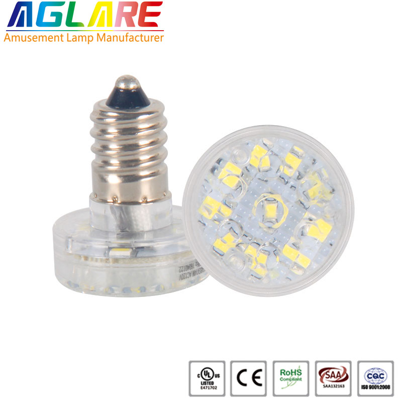 Single color 14 LEDs 24V/60V/120V E14 led holiday lighting