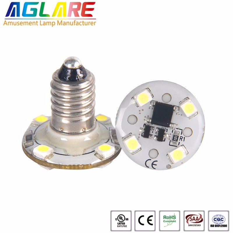 e10 single color led bulb funfair lights cabochon