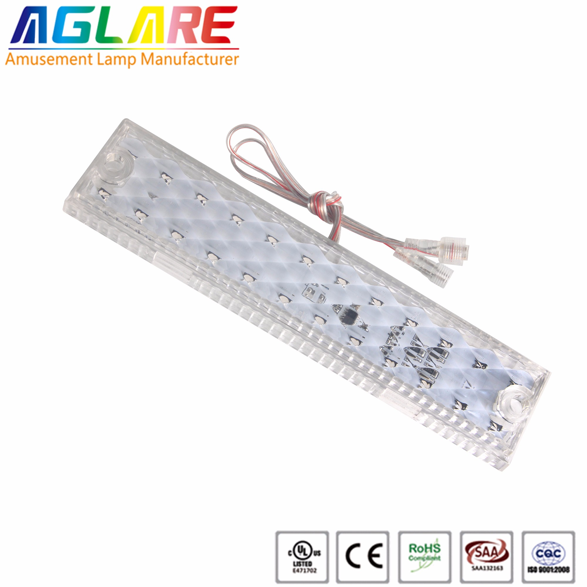 24leds Funfair led pixel lighting DC24V waterproof RGB led