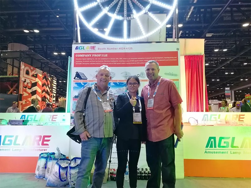 In the 2018 IAAPA AAE in Orlando, we achieved a complete success
