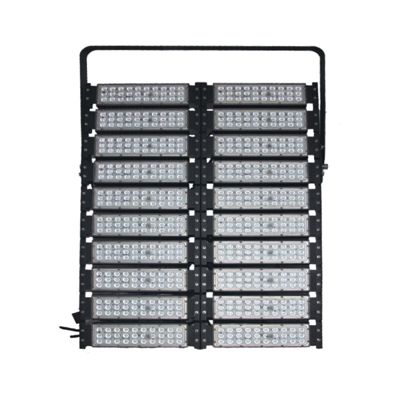 Waterproof remote control 1000W railway led tunnel lighting